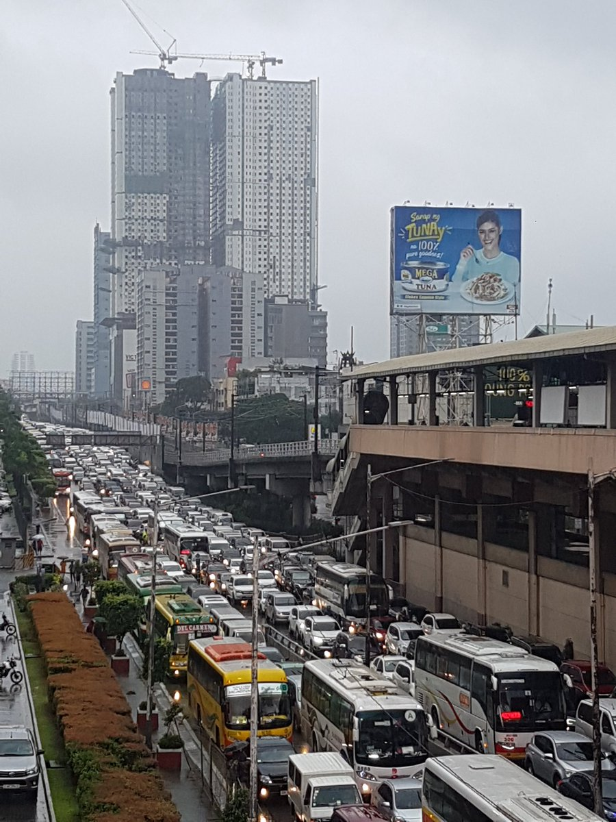 So grabee the traffic! Naku better stay at home.