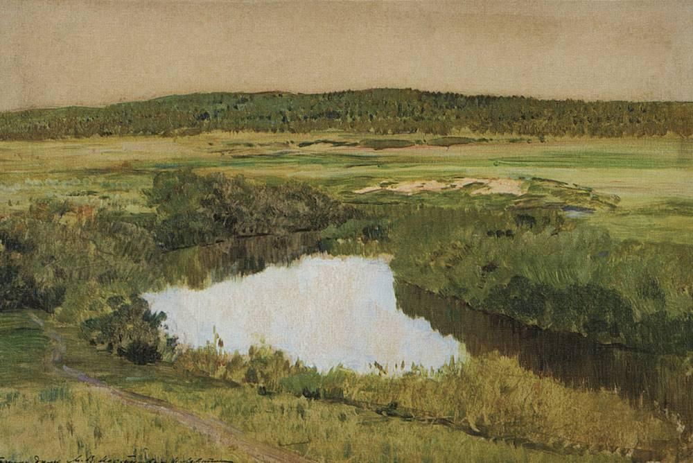 Isaac Levitan's photo on River