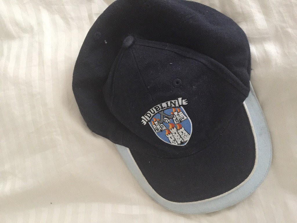 Lucky Dublin hat, it's almost time to go to work....