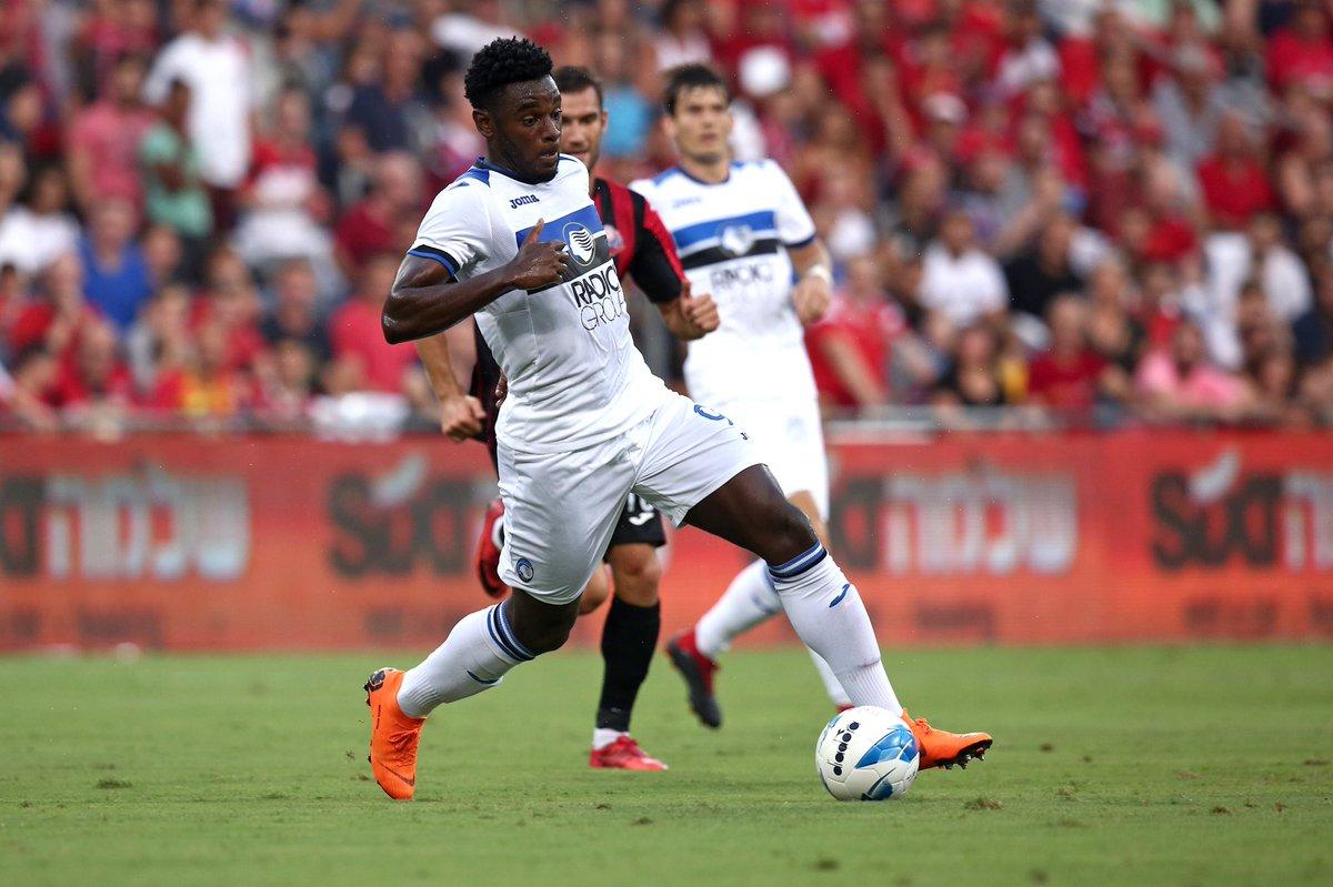 Sono bastati 20' a Duván #Zapata per trovare la sua prima rete in nerazzurro all'esordio da titolare #GoAtalantaGo #EuAtalanta  #HapoelAtalanta  - Ukustom