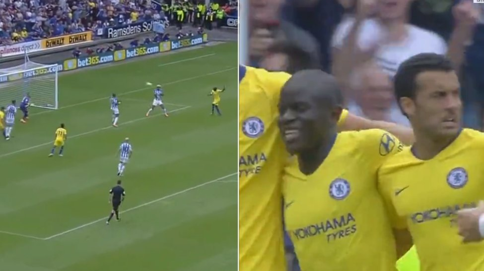 Wins the World Cup.  27 days later...  Scores Chelsea&#39;s first Premier League goal of 2018-19.  N&#39;Golo Kante is now scoring goals. Is there anything that man can&#39;t do?     http://www. sportbible.com/football/news- ngolo-kante-equals-his-best-premier-league-goals-tally-20180811?source=facebook &nbsp; … <br>http://pic.twitter.com/0TMFU1JsBl