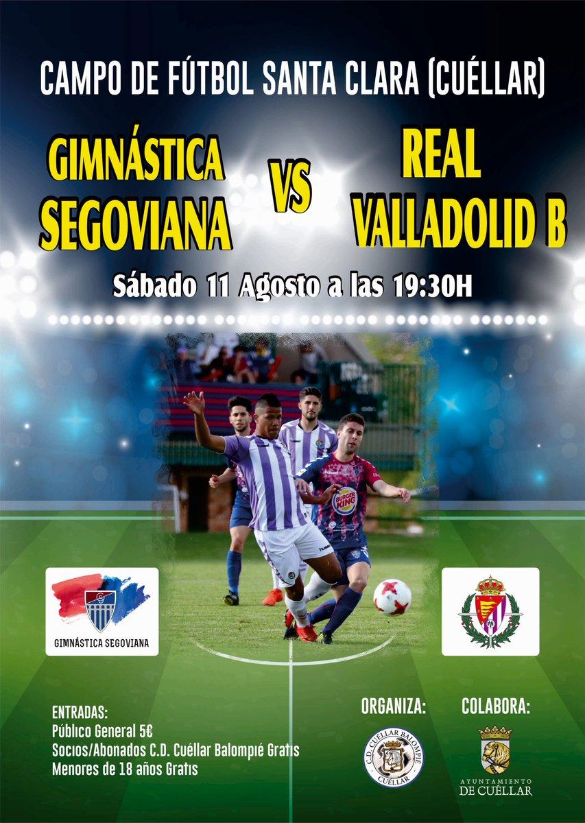 Real Valladolid B - Temporada 2018/19 - 2ª División B - Página 7 DkUEvo8W4AIwdZ9