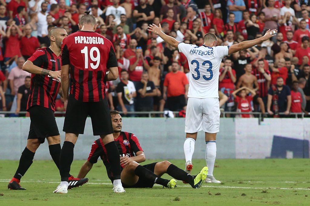 L'esultanza di Hans #Hateboer per il suo 1º gol in maglia #Atalanta #GoAtalantaGo #EuAtalanta #HapoelAtalanta  - Ukustom