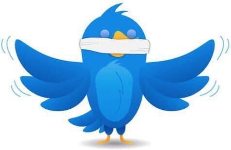 Resultado de imagem para censura twitter
