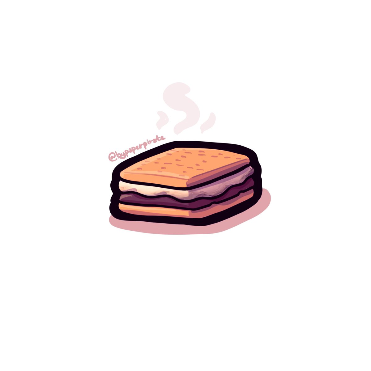 BLACK OUT AT MY PLACE. WAAH EVERYONE KEEP SAFE FROM THIS STORMY NIGHT.  ..since I drew this this morning, I'll go and make some s'mores—gonna pretend I'm not scared of the dark and this is just some sort of camping trip when my niece gets here.  #NationalSmoresDay <br>http://pic.twitter.com/Q5qj7ZsVbL
