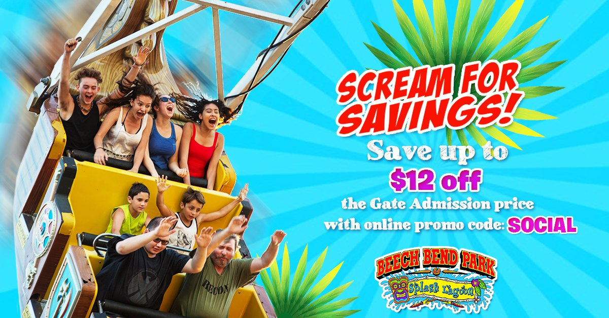 Drop In To Beech Bend Today And Save Up 12 Off The Gate Admission Price With Online Promo Code Social Visit Http Bit Ly 2flsvmk Purchase Yours