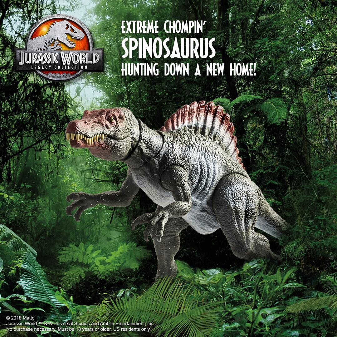 Jurassic World Legacy Collection Extreme Chompin/' Spinosaurus NEW Dinosaur