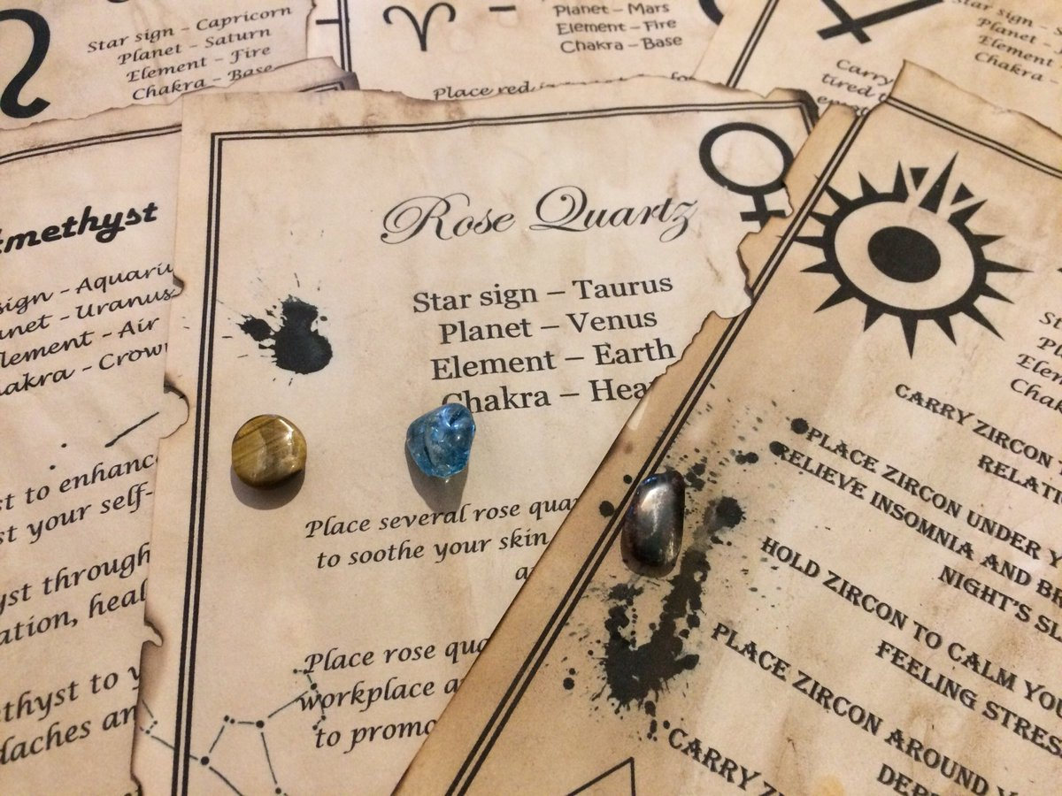 e50e68b6 Excited to share this item from my #etsy shop: 6 Book of shadow pages,  Grimoire pages, journal inserts, gemstone spells, witchcraft pages and real  gemstones ...