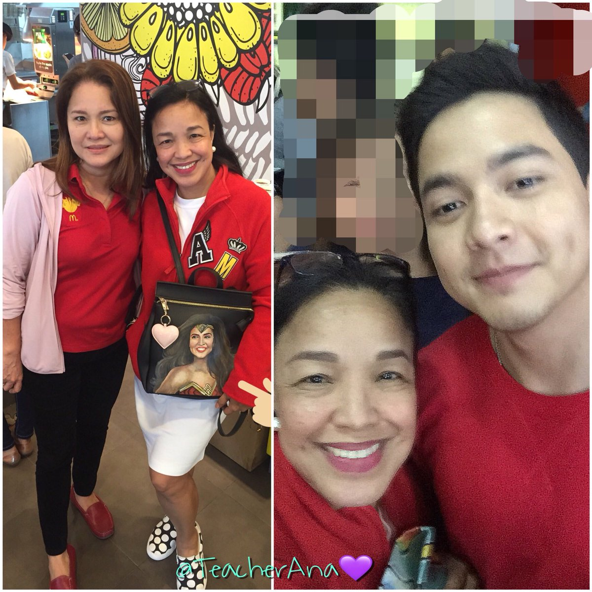 #MaineMcDoStaClaraTurns1  #VMonHOOQHistoryCon Congratulations,  @aldenrichards02 @mainedcm!  Mendoza in the morning: FaulkerSON at night!   We&#39;ve been blessed today despite the heavy showers and flood. God, please continue your downpour of love and blessings for both families <br>http://pic.twitter.com/STOIMqSy9s