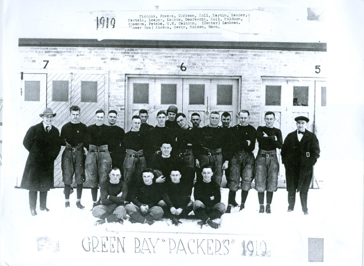 Aug. 11, 1919, the Green Bay Packers were born   As we celebrate our 99th birthday &amp; enter our 100th season of football, take a look through every team photo through the years :  http:// pckrs.com/d625b  &nbsp;     #Packers100<br>http://pic.twitter.com/hlb0yCpov3