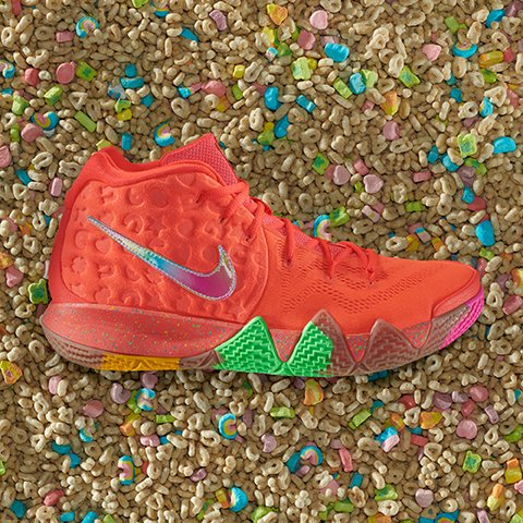 pretty nice e001d 9cf1a Stay Hungry Nike Kyrie Cereal Pack Kix Cinnamon Toast Crunch ...