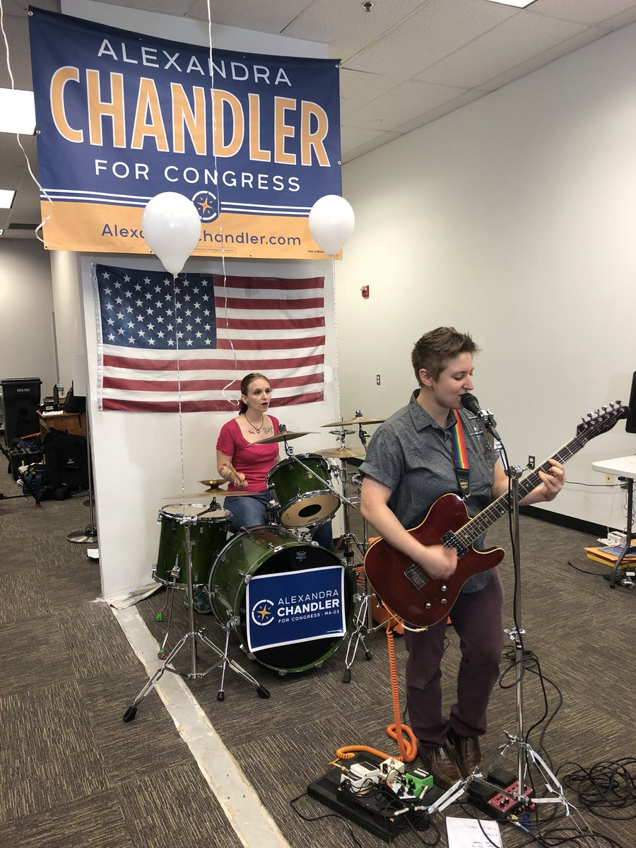 Thank you to @HLClouds for bringing the rock to our HQ Grand Opening in #Haverhill! #MA3 #WhoeverYouAre