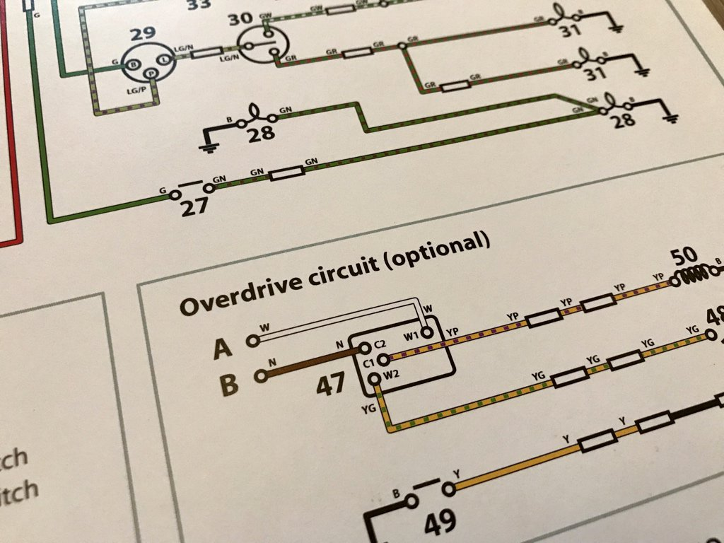 "Ben Hutchings on Twitter: ""Would anyone like a 'free' A3 Wiring Diagram for  a Mk1 Triumph GT6? About 10y ago I wanted to start a company selling  Triumph ..."