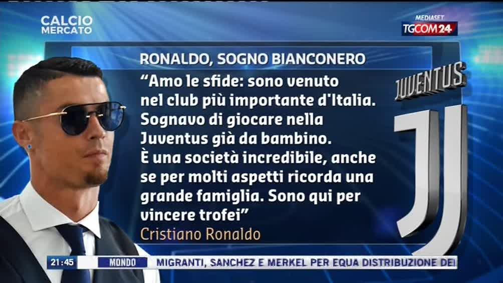 #calciomercatotgcom24Le parole di #CristianoRonaldo sulla #Juventus: i tifosi juventini possono sognare.  - Ukustom