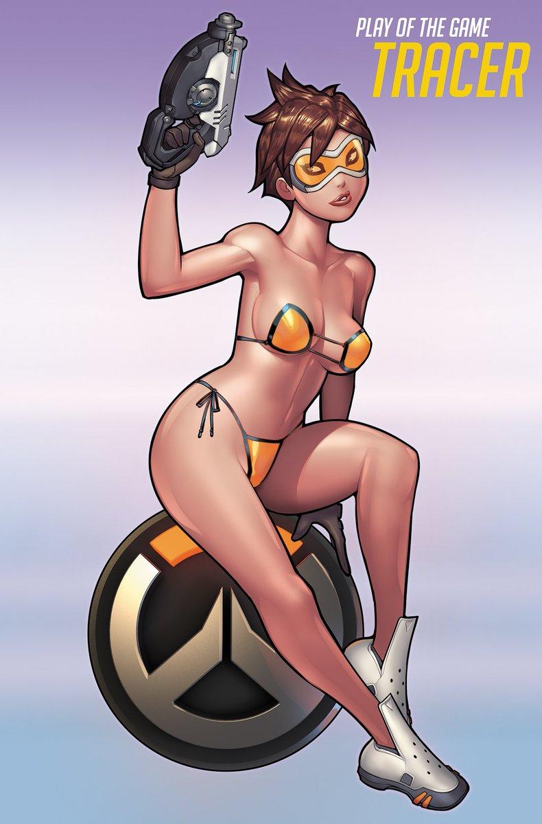Overwatch tracer bikini
