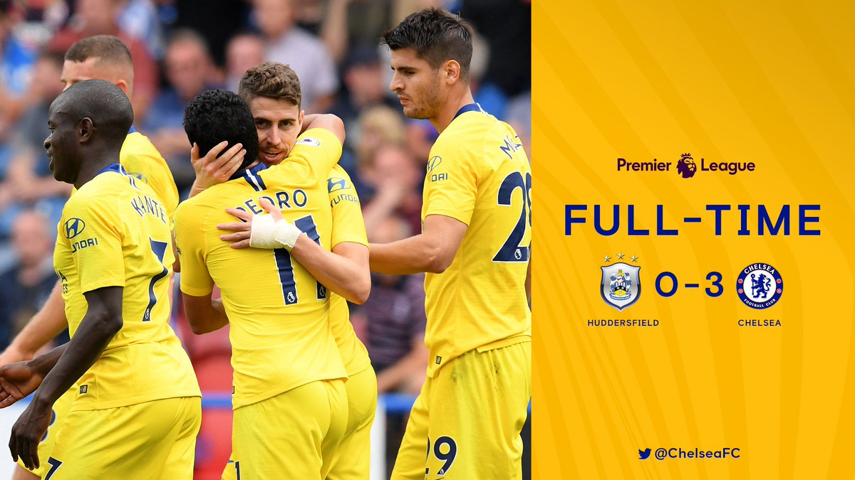 Chấm điểm: Huddersfield Town 0-3 Chelsea