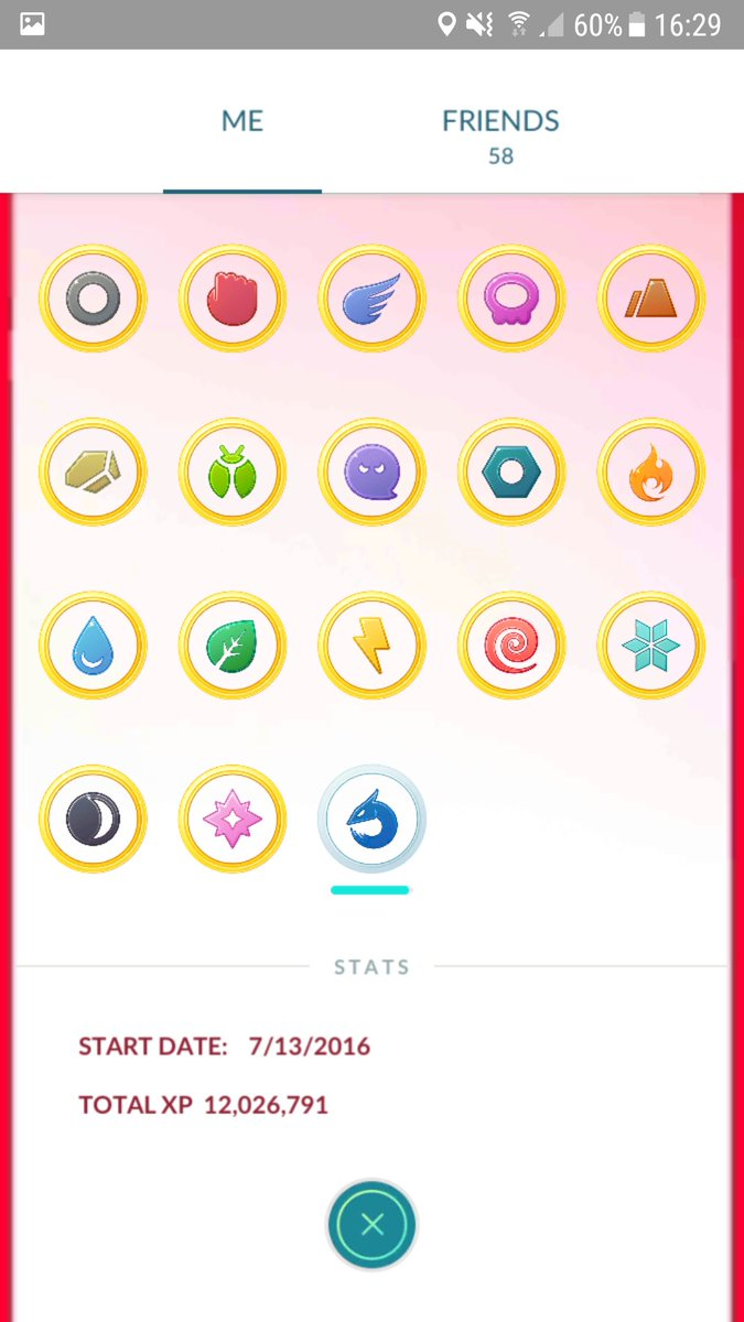 Today I reached LVL 38, now starting serious grinding to finally be at LVL 40! :D #TeamValor #PokemonGO<br>http://pic.twitter.com/8Q8vTMU2Lp