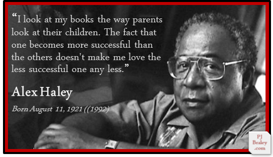 """""""In my writing, as much as I could, I tried to find the good and praise it."""" – #AlexHaley  More: Alex Haley, #Pulitzer Prize winning (1977) American #writer -   https://www. biography.com/people/alex-ha ley-39420 &nbsp; …   #writers #quotes on #writing<br>http://pic.twitter.com/yICg4Oyrtp"""