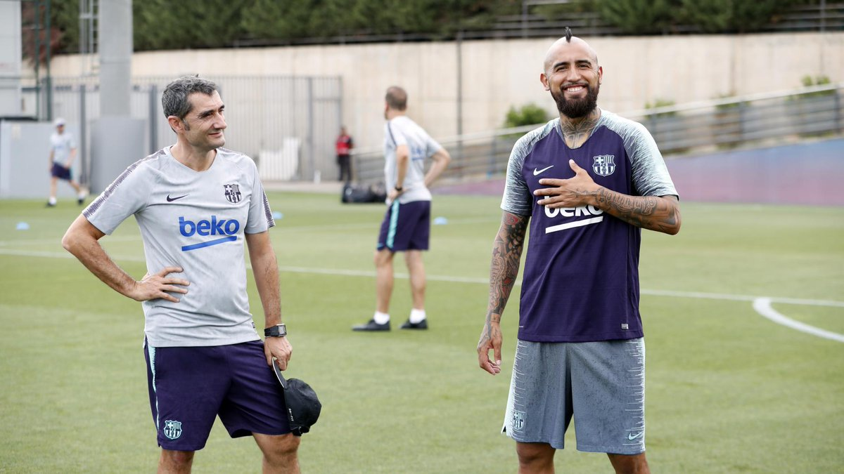 �� Ernesto Valverde: '@kingarturo23 is a player who is used to big games.' ����#ForçaBarça https://t.co/juRHSvi1l5
