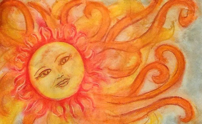 new moon in Leo 🌞 let the rays of Leo season warm you up to your passion, reconnect you to your heart, reignite your self love. may the light penetrate your skin & seep into your soul, to tuck away this sunshine, this passion, this lust for life for the colder winter months. Photo