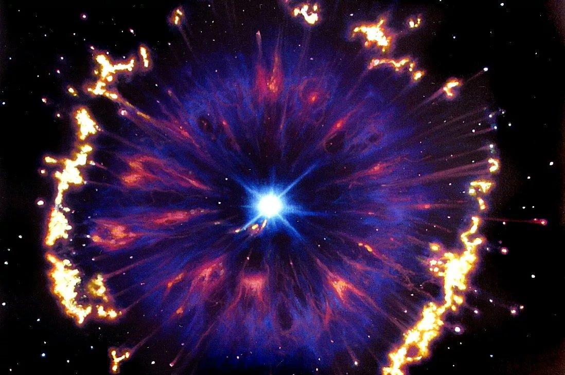 теленка разные картинка сверхновая звезда первый