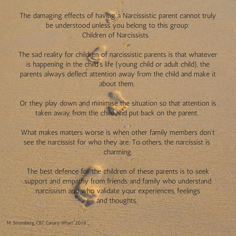 The Narcissistic Parent Of Special >> Cbt Canary Wharf On Twitter For The Child Young Adult Child Of