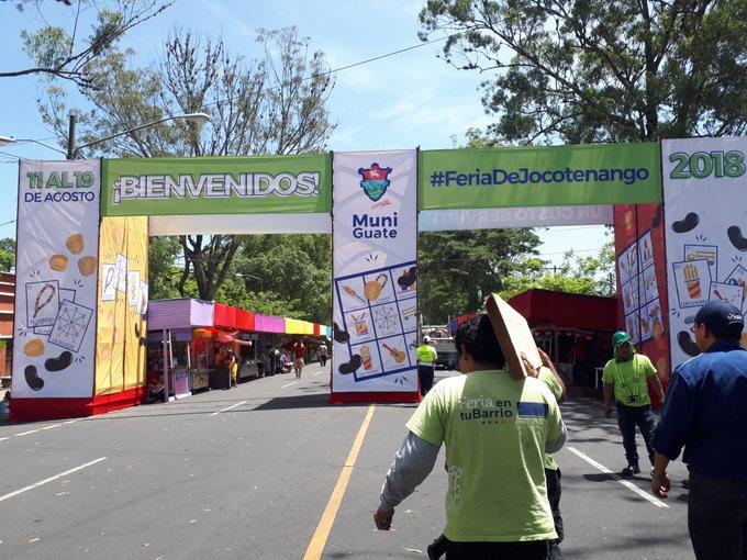 Hoy inició la Feria de Jocotenango en el Hipódromo del Norte. Termina el 19 de agosto. Photo