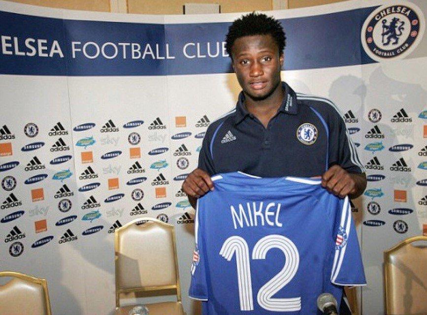 Image result for John Mikel Obi joining Chelsea