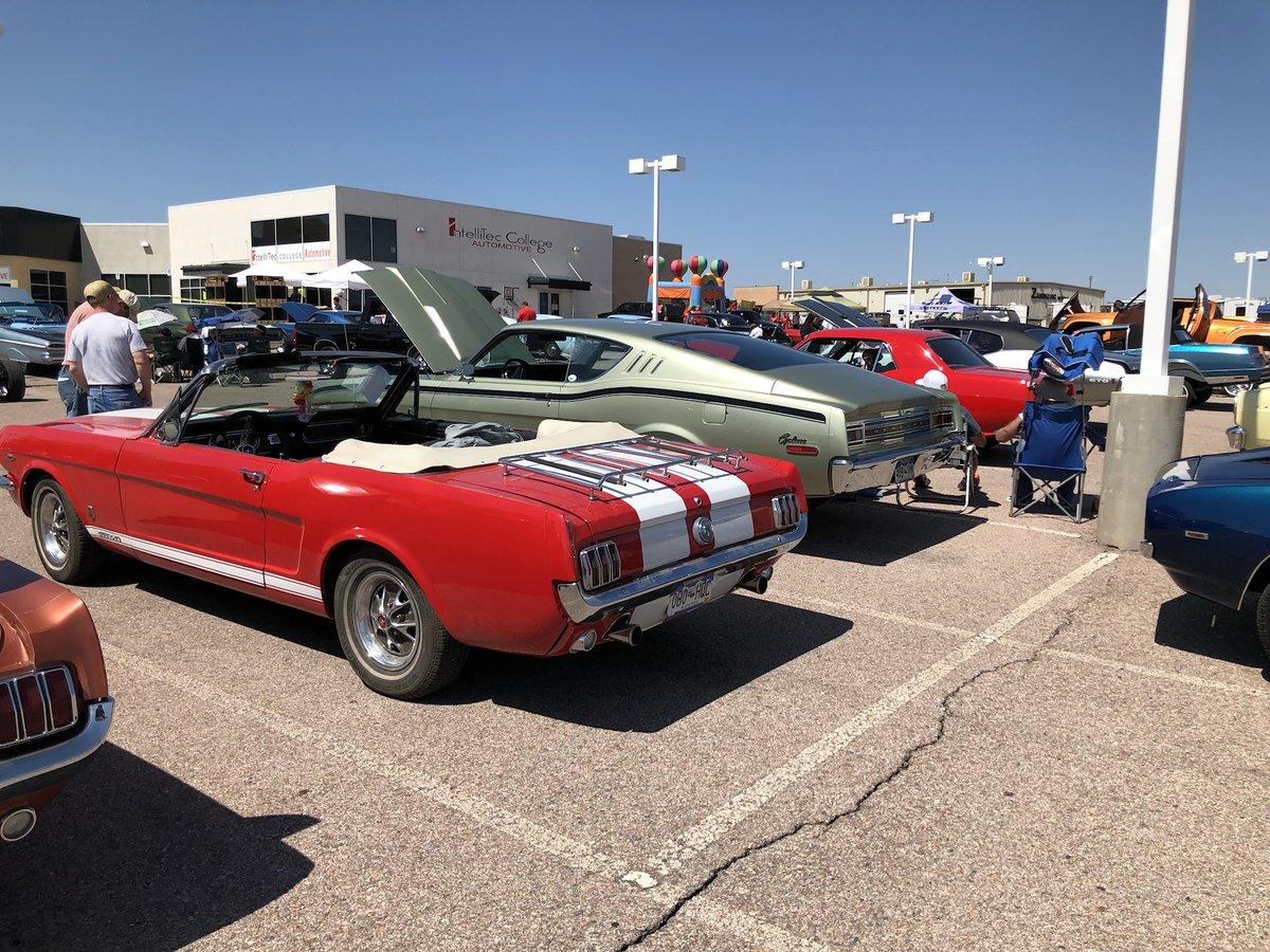 KKFM On Twitter Awesome Rides At The IntelliTec Pueblo Car - Pueblo car show