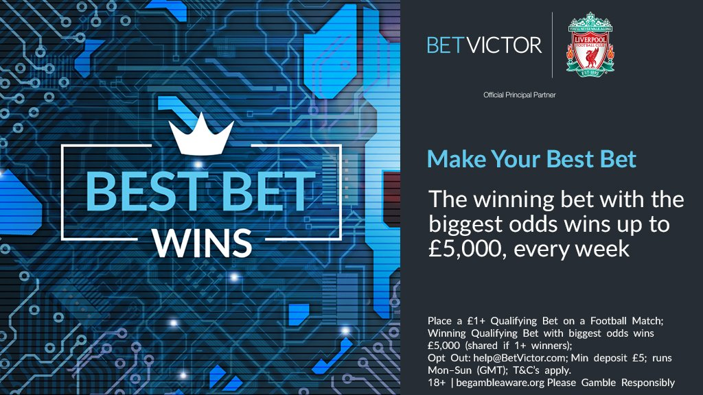 BetVictor #BestBetWins