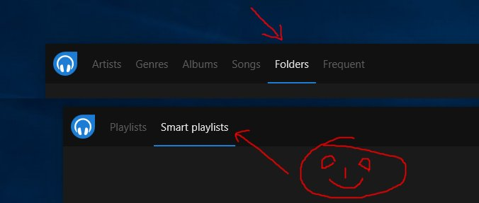 Hello world! Brace yourselves for Dopamine 2.0 Preview 2. It&#39;ll give you 2 much demanded features: Folder view (I finally gave in :)), and Smart playlists! Preview 2 will soon be available. #dopamineaudioplayer #dopamine #music #mp3 #wma #ogg #vorbis #flac #aiff #m4a #opus #ape<br>http://pic.twitter.com/v7F9G826R7