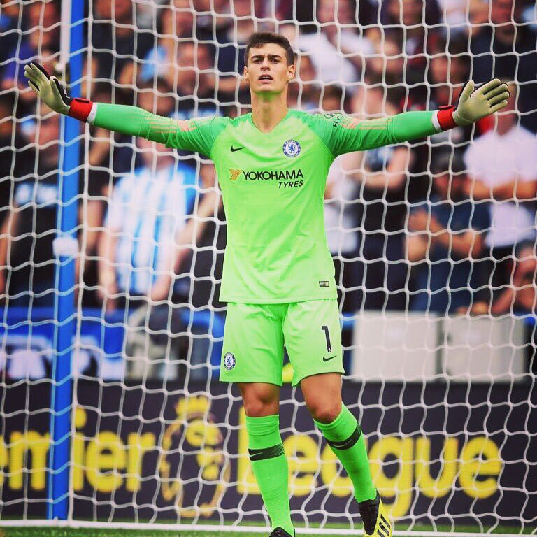 Great start of the @premierleague , I'm very happy with my debut. Come on blues!! @chelseafc Buen comienzo en la @premierleague . Feliz por el debut. Hasiera ona @premierleague -n. Pozik debutarekin.