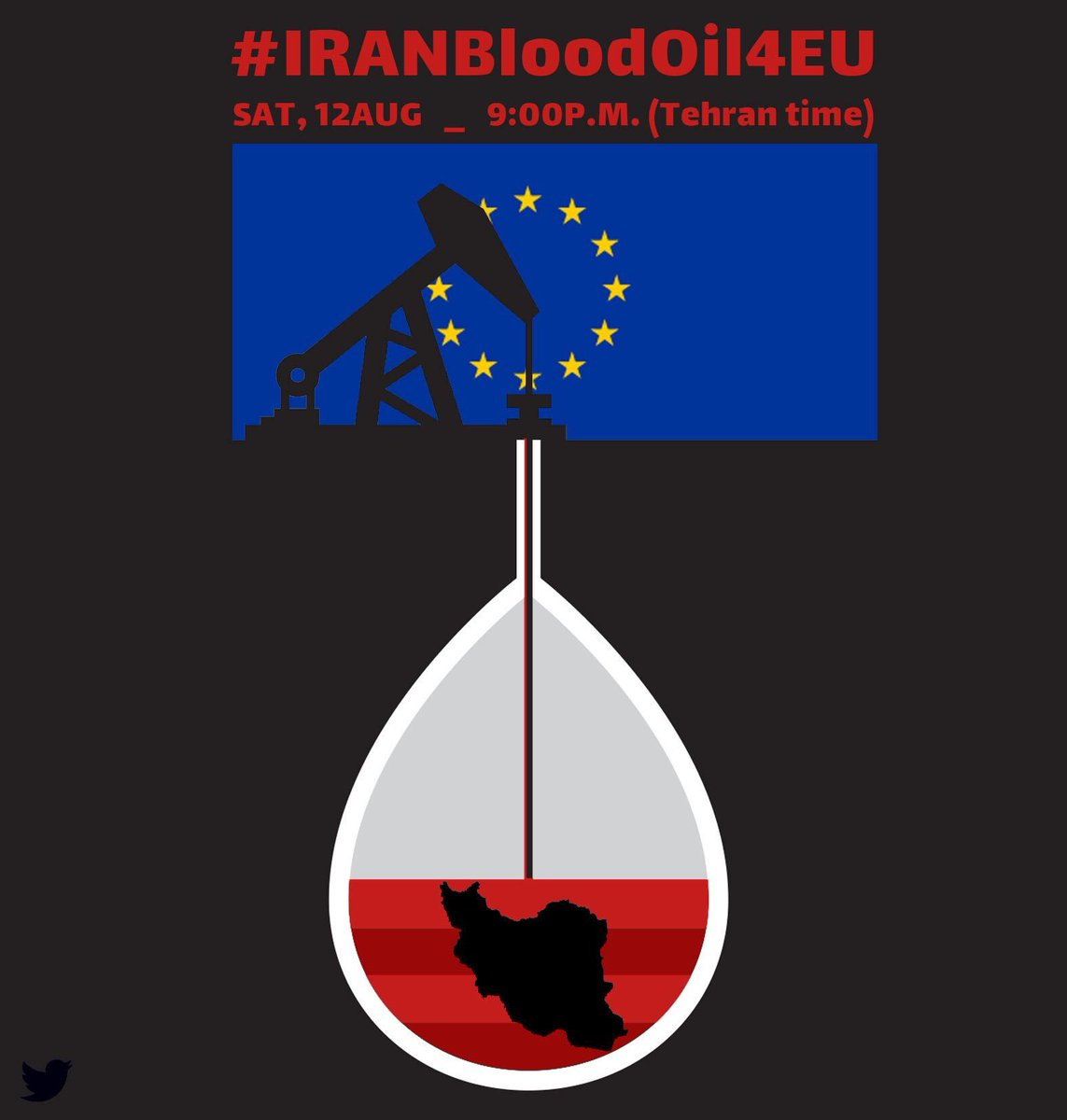 #IranBloodOil4EU You are cooperating with #IRGC who kills and tortures innocent protestors and prisoners! Stop just dying for money! #Mogherini  #EuropeanParliament #EuropeanUnion @coe @FedericaMog @EU_Commission @eu_eeas @eucopresident @EUCouncil @Europarl_EN @SecPompeo<br>http://pic.twitter.com/AfT9Vjx1yi