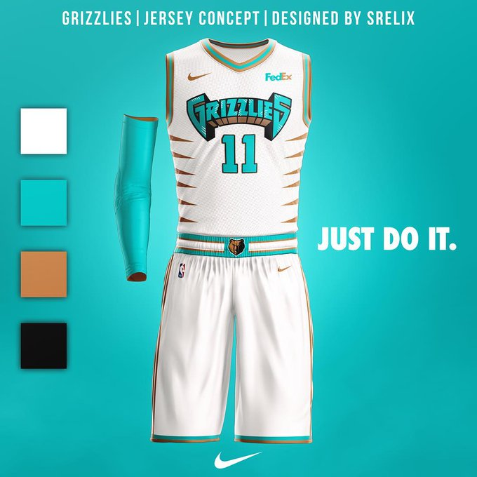 lowest price f17e9 11d1d 15-year-old artist redesigns NBA throwback jerseys. https ...