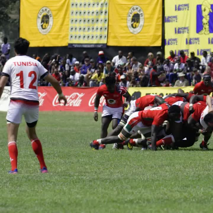Great try from @OfficialKRU as they beat Tunisia 67-0 and will battle with Namibia for a spot in Pool B at Rugby World Cup 2019