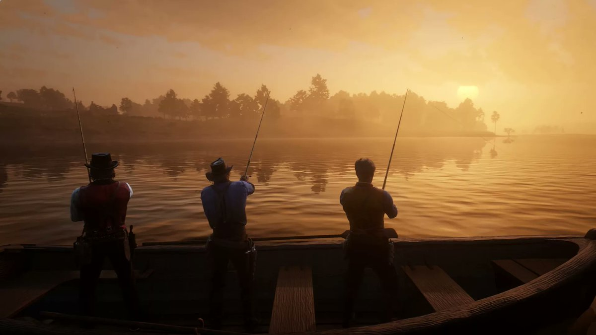 Retweet if you&#39;re excited to go fishing in Red Dead Redemption 2 <br>http://pic.twitter.com/TZ2DV55AoM