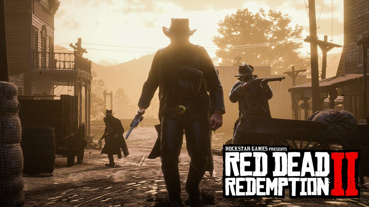 This is life in the outlaw era. Watch the new trailer for Red Dead Redemption 2, captured entirely from in-game footage:  https:// play.st/2OkF6cz  &nbsp;  <br>http://pic.twitter.com/fJWn0oIIpJ