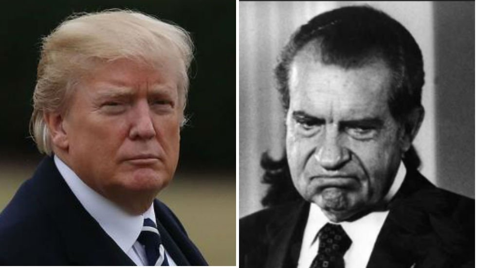 Poll: Trump disliked as strongly as Nixon before his resignation https://t.co/4DsxepeQVD