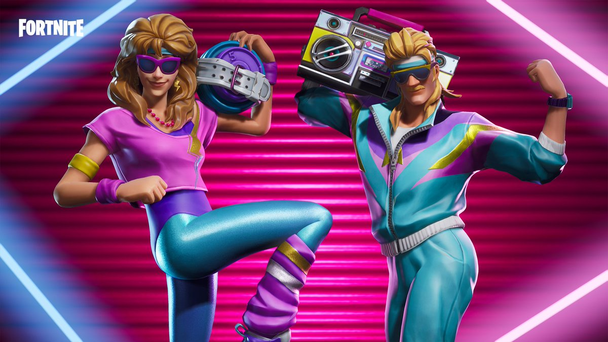 Break a sweat with the totally new Spandex Squad Gear. Available now!