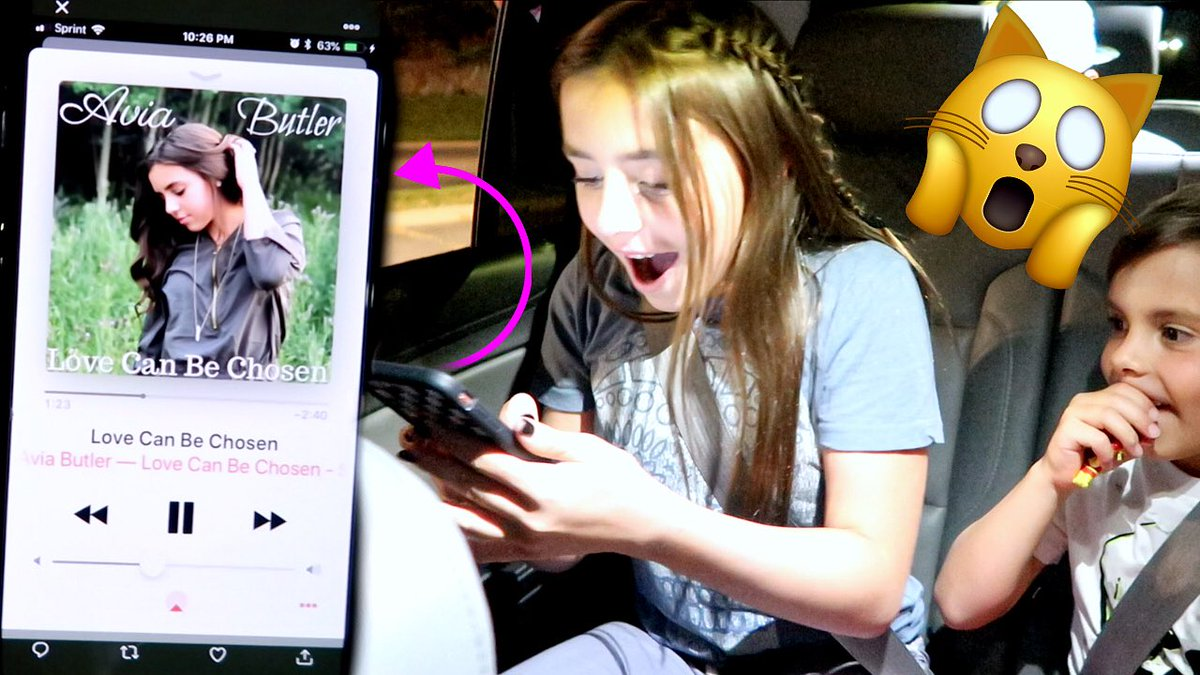 The moment she found out her song was live on @iTunes is one that we will never forget! 👉🏽youtu.be/hl1Q5PKtcDs