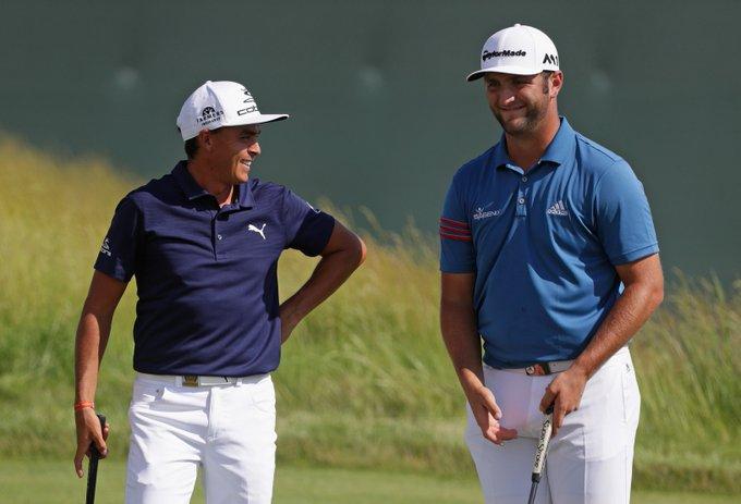 Last five groups Sunday: 👥: Thomas, Lowry 👥: Day, Cink 👥: Woods, Woodland 👥: Rahm, Fowler 👥: Koepka, Scott #PGAChamp Photo
