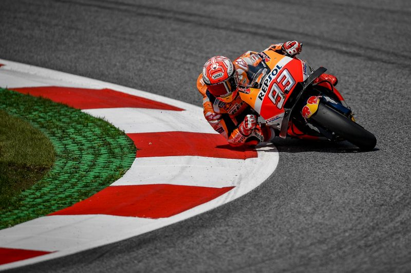 Repsol Honda - Marc Marquez grabs a brilliant pole at the Red Bull Ring, Pedrosa on third row  https:// motogp.hondaracingcorporation.com/report/marc-ma rquez-grabs-a-brilliant-pole-in-austria-pedrosa-on-third-row/#.W29COI4DOYA.twitter &nbsp; …  #MotoGP #MM93 #DP26 #AustrianGP<br>http://pic.twitter.com/0YytcGNUyR