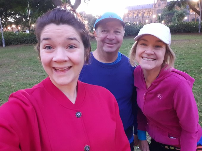 Good morning from the family on this beautiful #City2Surf day! Photo
