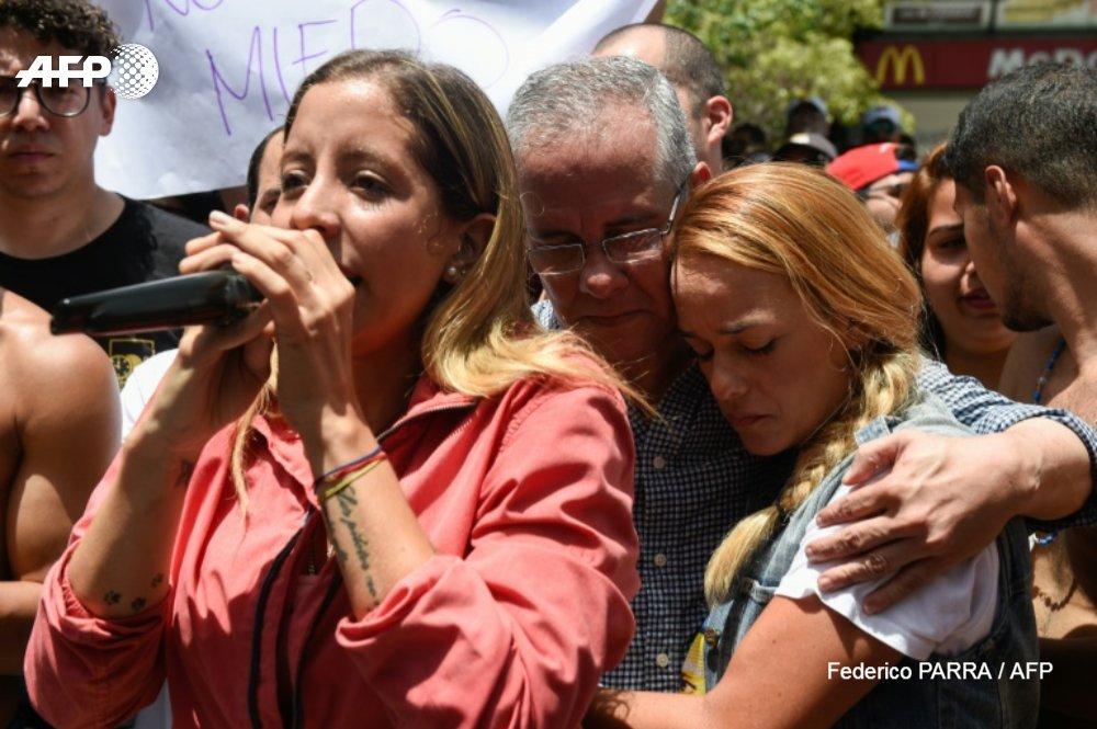 Venezuela : manifestation pour la libération dun député de lopposition u.afp.com/ohtD #AFP