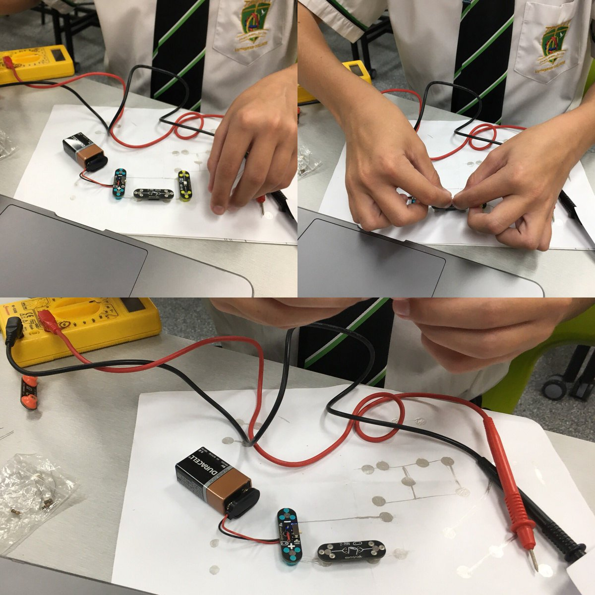 Circuitscribe Hashtag On Twitter Circuit Scribe Want Year 7 Steam Students Getting Creative With Electricity Physics Science Technology Engineering Art Maths