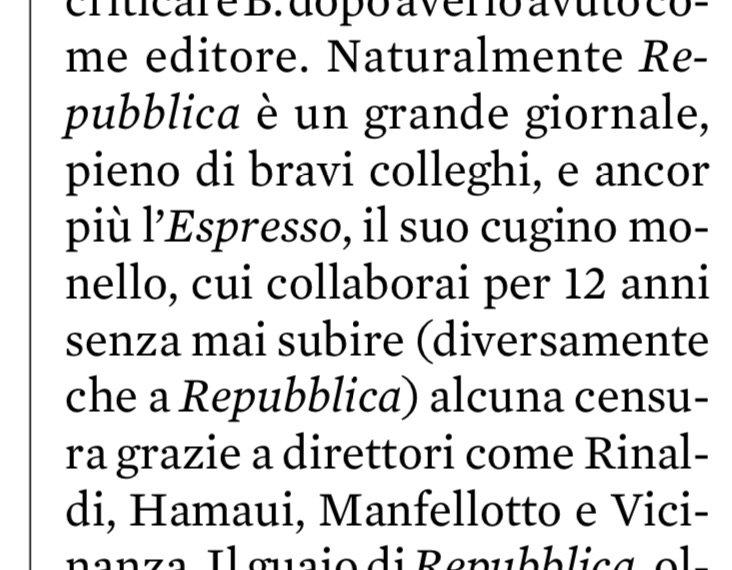 #Travaglio su Repubblica ed Espresso.#nonrassegna  - Ukustom