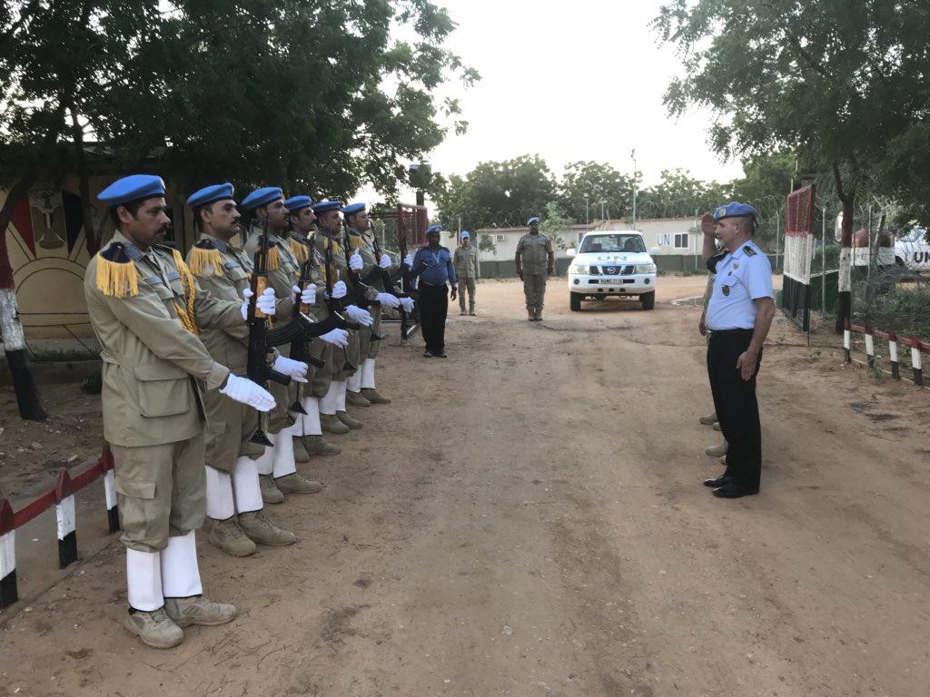 Warmly welcomed by #UNPOL #FPU #EGYPT in #Darfur #Sudan/ keep up the good work #UN #PEACEKEEPING #OROLSI #POLICE