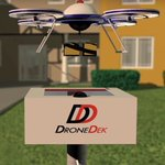 Image for the Tweet beginning: DroneDek Patents Solar-Powered, Weather-Resistant Docking