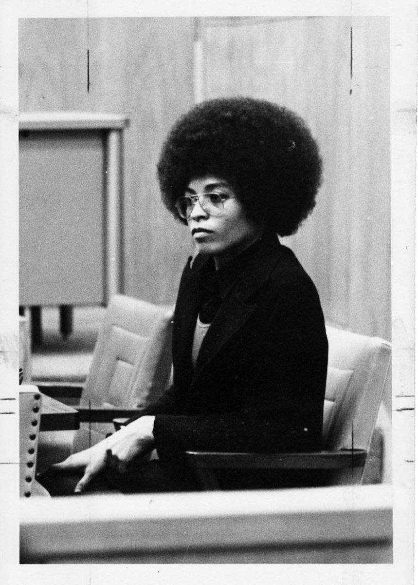 'When Black Women stand up—as they did during the Montgomery Bus Boycott—as they did during the Black Liberation Era, earth shaking changes occur' Angela Davis