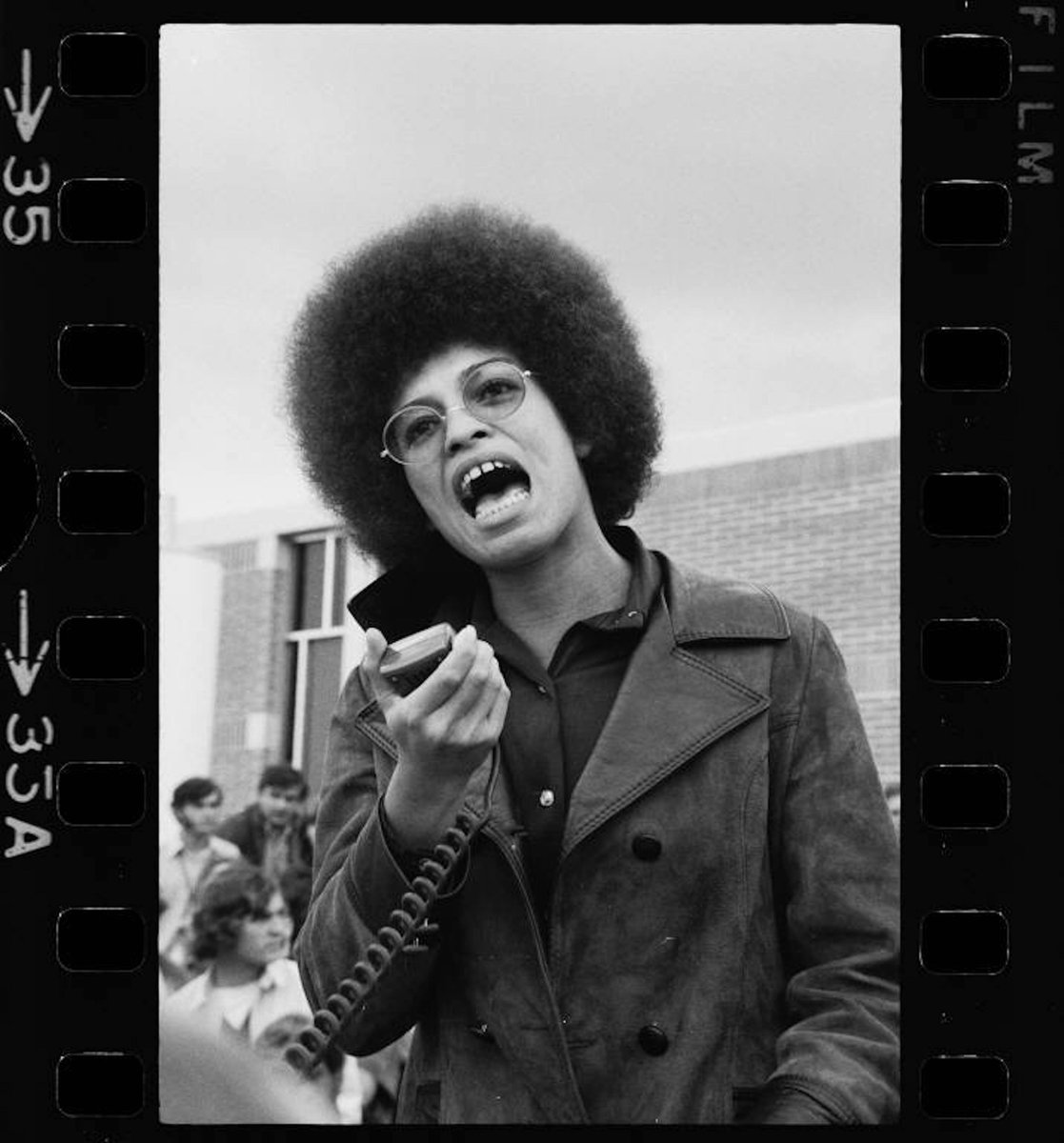 'If indeed all lives mattered, we would not need to emphatically proclaim that 'Black Lives Matter'' Angela Davis